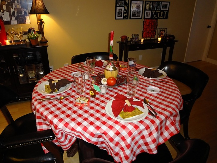 My Work: Below You Can See A Complete Table Setting Idea Of My One.